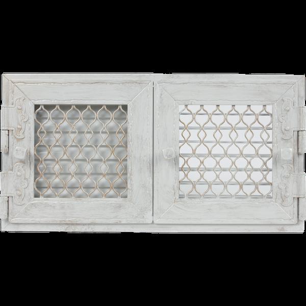 Kratka Retro podwójna biała antyk otwierana 22 zdjęcie 1
