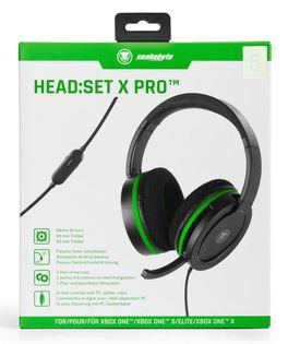 snakebyte HEAD:SET X PRO zestaw słuchawkowy (XBOX ONE)