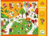 DJECO Puzzle GIGANT Zabawa w Parku 24 ele.