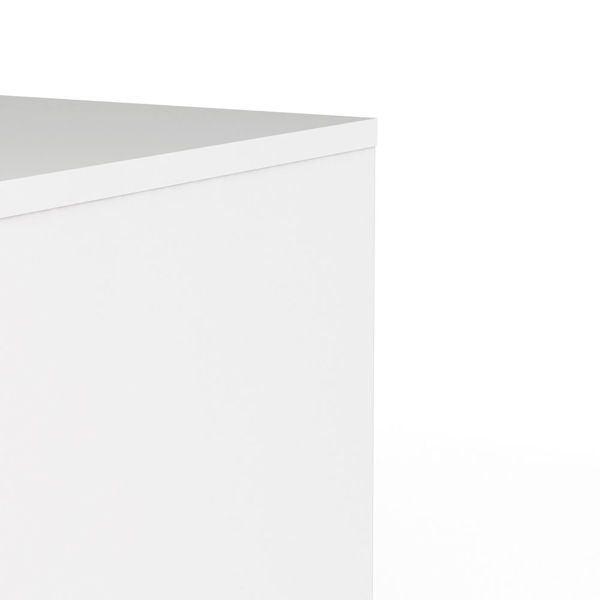 Komoda wąska 3S Naia biała wysoki połysk zdjęcie 7