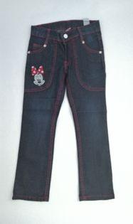 Spodnie jeans MINNIE MOUSE rozm.122 !!!