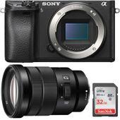 Aparat cyfrowy Sony A6300 + 18-105 f/4.0 + SD 32GB