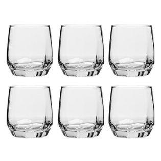 Komplet 6 Szklanek Do Whisky 310Ml Orion Diamond 122746