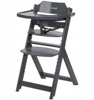 Safety 1st Timba krzesełko do karmienia Grey 3w1 od 6miesiąca do10lat