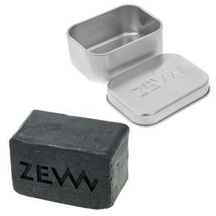 ZEW - Zestaw mydelniczka + mydło do brody z węglem drzewnym
