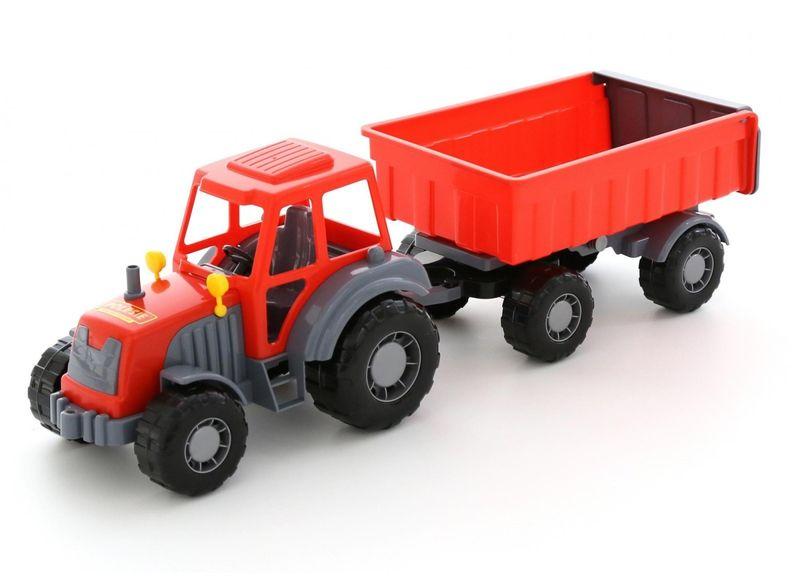 Altaj Traktor z przyczepą, siatka zdjęcie 1