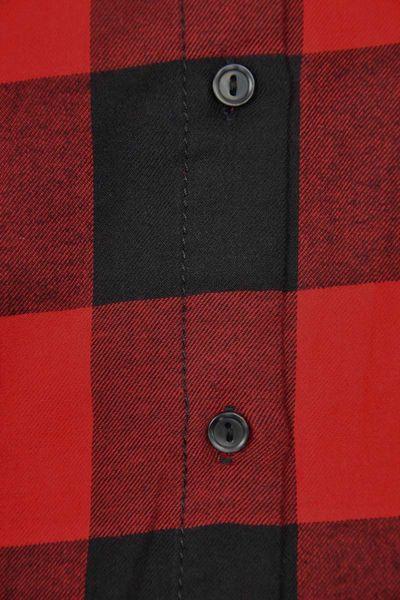 H&M Koszula Czerwono-Czarna Krata Oversize - 38 / M zdjęcie 3