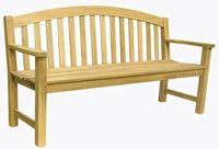 Ogrodowa drewniana ławka MAURO