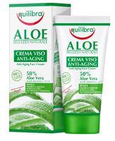 Equilibra Aloe Anti-Aging Face Cream Aloesowy Przeciwstarzeniowy Krem Do Twarzy 50Ml