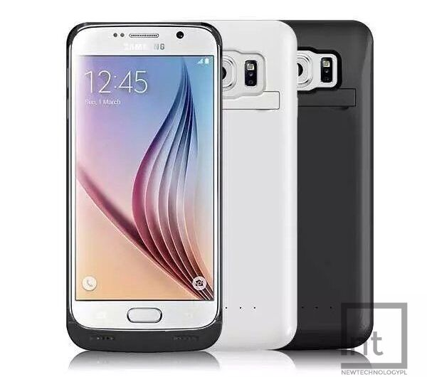 4200mAh etui bateria power bank Samsung S6 zdjęcie 1
