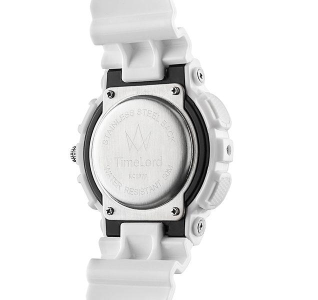 Męski Elektroniczny Zegarek S-SHOCK Trzy Kolory Biały Czerwony Czarny zdjęcie 9