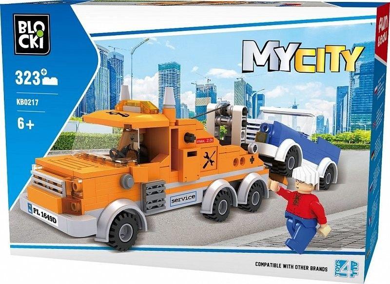 Klocki Blocki MyCity Pomoc drogowa Holownik zdjęcie 1