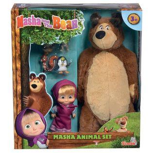 Simba: Masza i Niedźwiedź - Zestaw ze zwierzętami