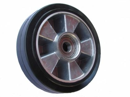 Koło kółko koła do paleciak aluminium guma fi 180 mm na 350 kg