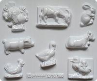 Forma do odlewów - Odlewy gipsowe - Zwierzęta domowe (2713196)