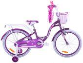 Rower dziecięcy 20 Fuzlu Lilly fioletowy