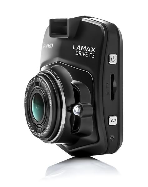 Lamax Drive C3 Rejestrator jazdy trasy 32GB karta zdjęcie 3
