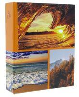 ALBUM, albumy na zdjęcia; 304 zdjęcia 10x15 cm opis VMC earth orange
