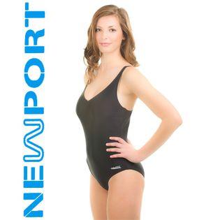 Kostium pływacki ELA Rozmiar - Stroje damskie - 36(S), Kolor - Stroje damskie - Eva - 01 - czarny