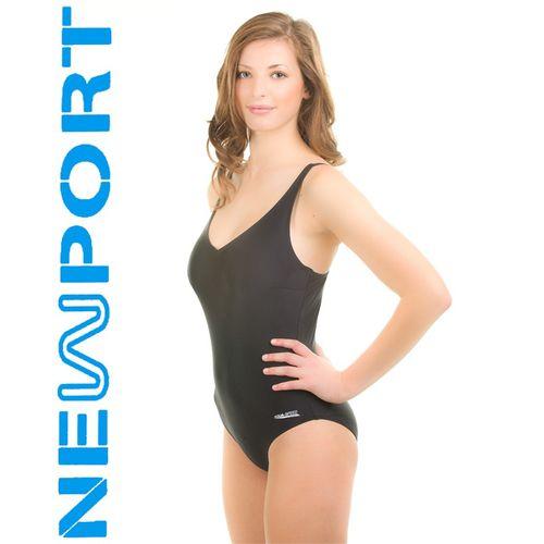 Kostium pływacki ELA Rozmiar - Stroje damskie - 36(S), Kolor - Stroje damskie - Eva - 01 - czarny na Arena.pl