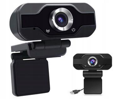 Kamerka Kamera INTERNETOWA PC FULL HD 1080P MIKROFON DO LEKCJI ONLINE