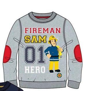 Bluza chłopięca FIREMAN SAM rozm. 116cm