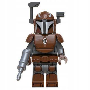 MEGA figurka Star Wars MANDALORIAN X3 +karta lego