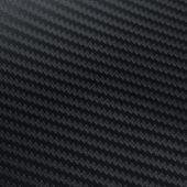 Naklejka samochodowa winyl/carbon 3D Czarna 152 x 200 cm zdjęcie 2