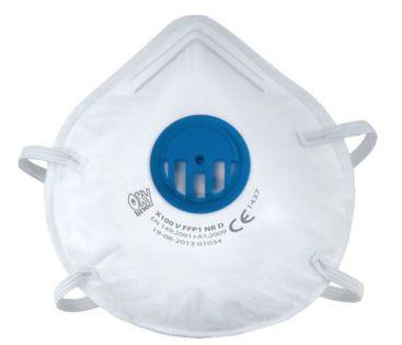 Półmaska z zaworkiem FFP1 antywirusowa, ochrona dróg oddechowych