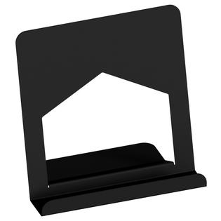 Metalowy stojak segregator ekspozytor na winyle książki tablet telefon