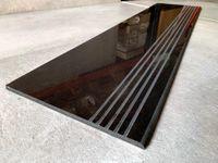 Czarne płytki schodowe 120x30 WYSOKI POŁYSK
