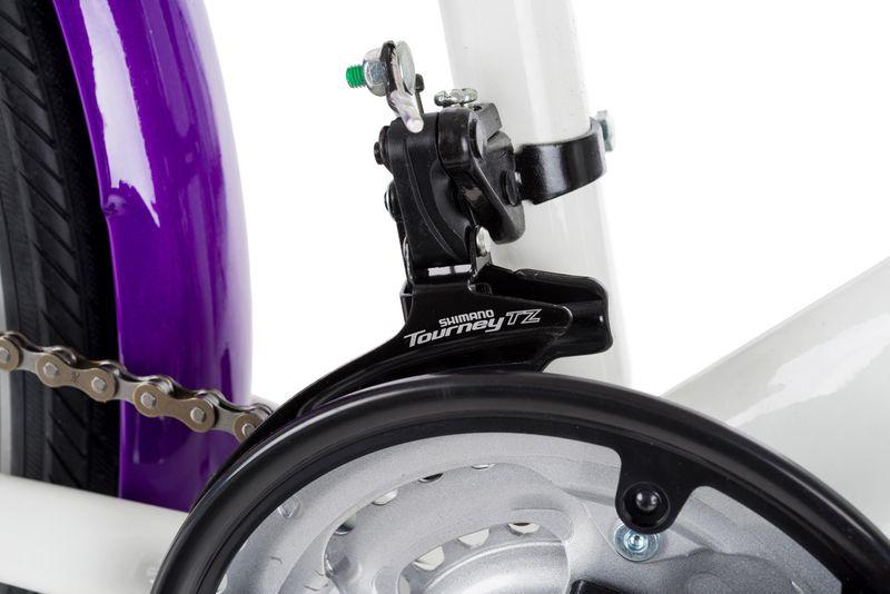 Rower 24 KANDS LAGUNA VS-2 stożek biało-fioletowy zdjęcie 13