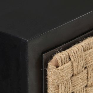 Lumarko Szafka nocna, 40x30x50 cm, lite drewno mango