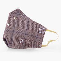 QART POSH Ekskluzywna Maseczka bawełniana z tkaniny sygnowanej BURBERRY