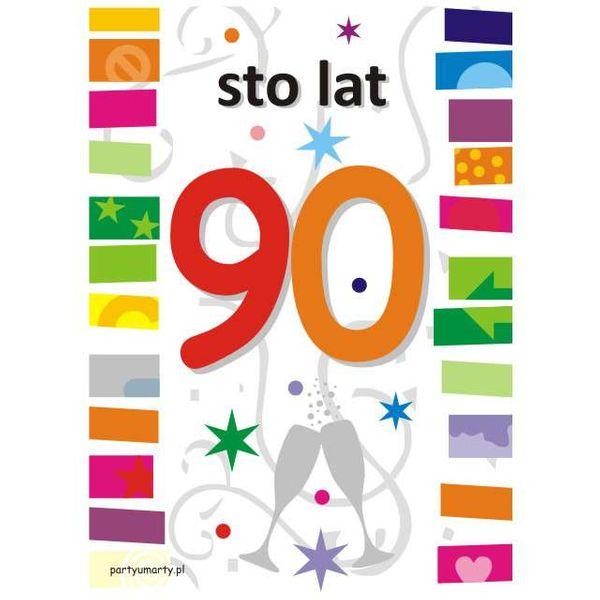 urodzinowe etykiety na ALKOHOL wódkę 90 urodziny na Arena.pl