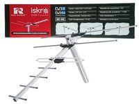 Antena DVB-T2 zewnętrzna VHF + UHF Iskra ISKRA DVB-T