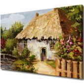 Obraz Na Ścianę 120X80 Wiejski Domek Wiejski Dome