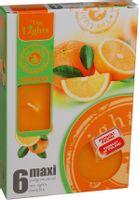 Duże podgrzewacze Tealight Maxi a'6 Orange