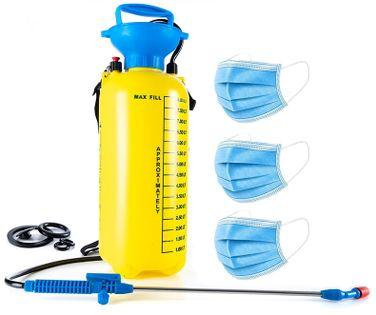 Opryskiwacz ogrodowy ciśnieniowy 8 litrów, 3 Bary