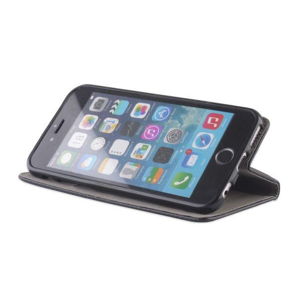 ETUI POKROWIEC CASE FUTERAŁ Pokrowiec Smart Magnet do Huawei P9 czarny zdjęcie 4