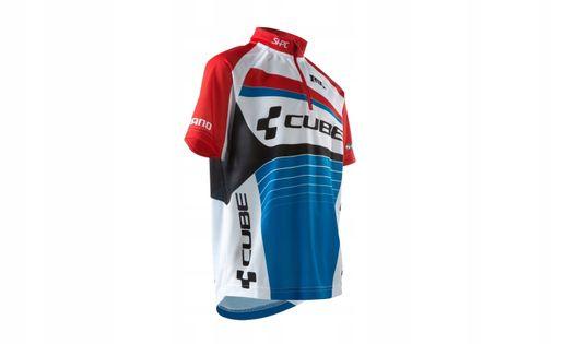 Koszulka rowerowa CUBE TEAMLINE Jersey 146/152