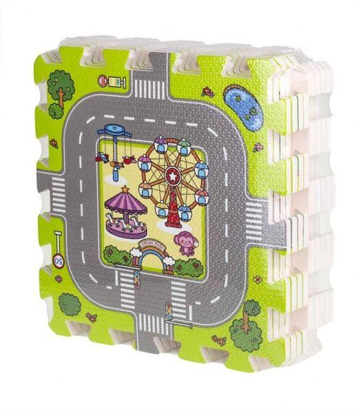 Duże puzzle piankowe mata dla dzieci ulica zdjęcie 9