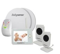 Elektroniczna niania Babysense Video V35 z 2 kamerami i Babysense 7