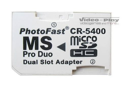 CR-5400 adapter Micro SD na Memory Stick Pro DUO na Arena.pl