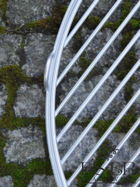 Ruszt do grilla ze stali nierdzewnej - okrągły 50 cm ES-ER zdjęcie 6
