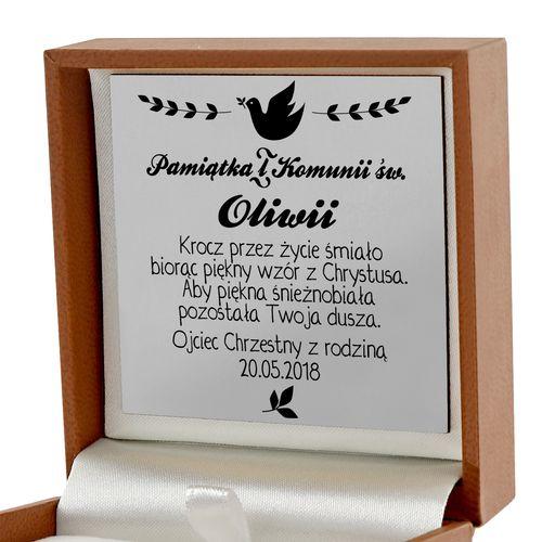 NASZYJNIK PENDRIVE prezent na pamiątkę KOMUNII na Arena.pl