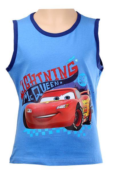 Koszulka Bezrękawnik Top Cars McQueen 110 zdjęcie 1