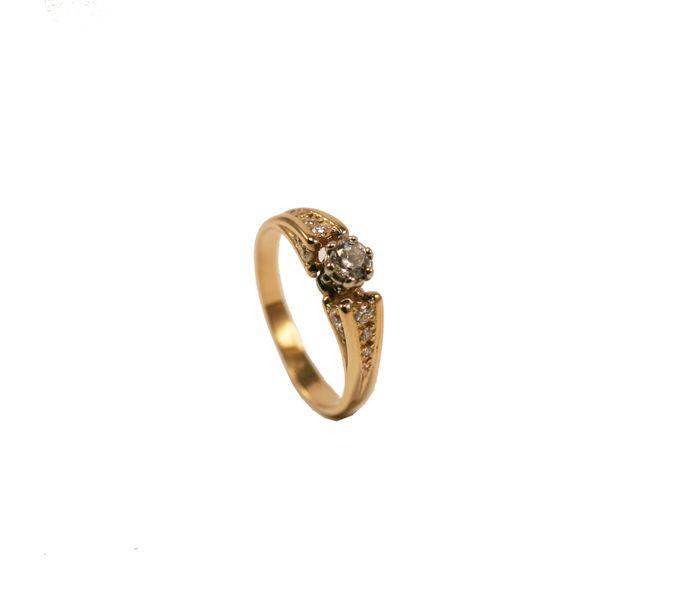 Pierścionek Zaręczynowy Z Brylantem 053 Ct 50 Arenapl