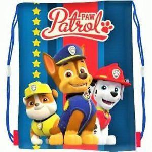 a5ec18ffd56f0 Plecak - Worek Psi Patrol Niebieski Boy A4 • Arena.pl