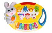 Pianino Organy dla dzieci interaktywne Królik Z349